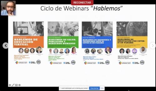 """Ciclo de Webinars """"Hablemos"""""""