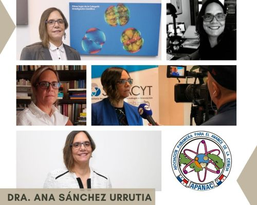 Dra. Ana Sánchez Urrutia.